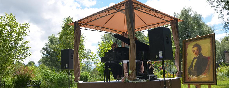 Міжнародний фестиваль ШопенФест ,,Музика  Ф. Шопена просто неба,,